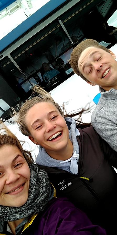 Og det var det flere som mente! (Fra venstre: Maria Buhaug, Ingvild Ø. Mæland og Martin Buran