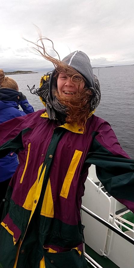 Undertegnede syntes som nevnt at båtturen var dagens høydepunkt på feltkursets første dag.